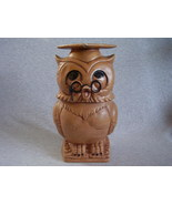 Twin Winton Cookie Jar Graduation Graduate Owl - $35.00