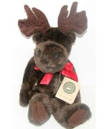 "STUFFED PLUSH BOYDS BEAR 14"" ""MURRAY MOOSEHOOFER"", #554210-05, NEW WITH TAGS - $5.93"