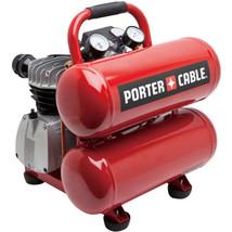 Porter Cable PCFP02040 4-Gallon Stack Tank Capacity Electric Air Compres... - $191.42