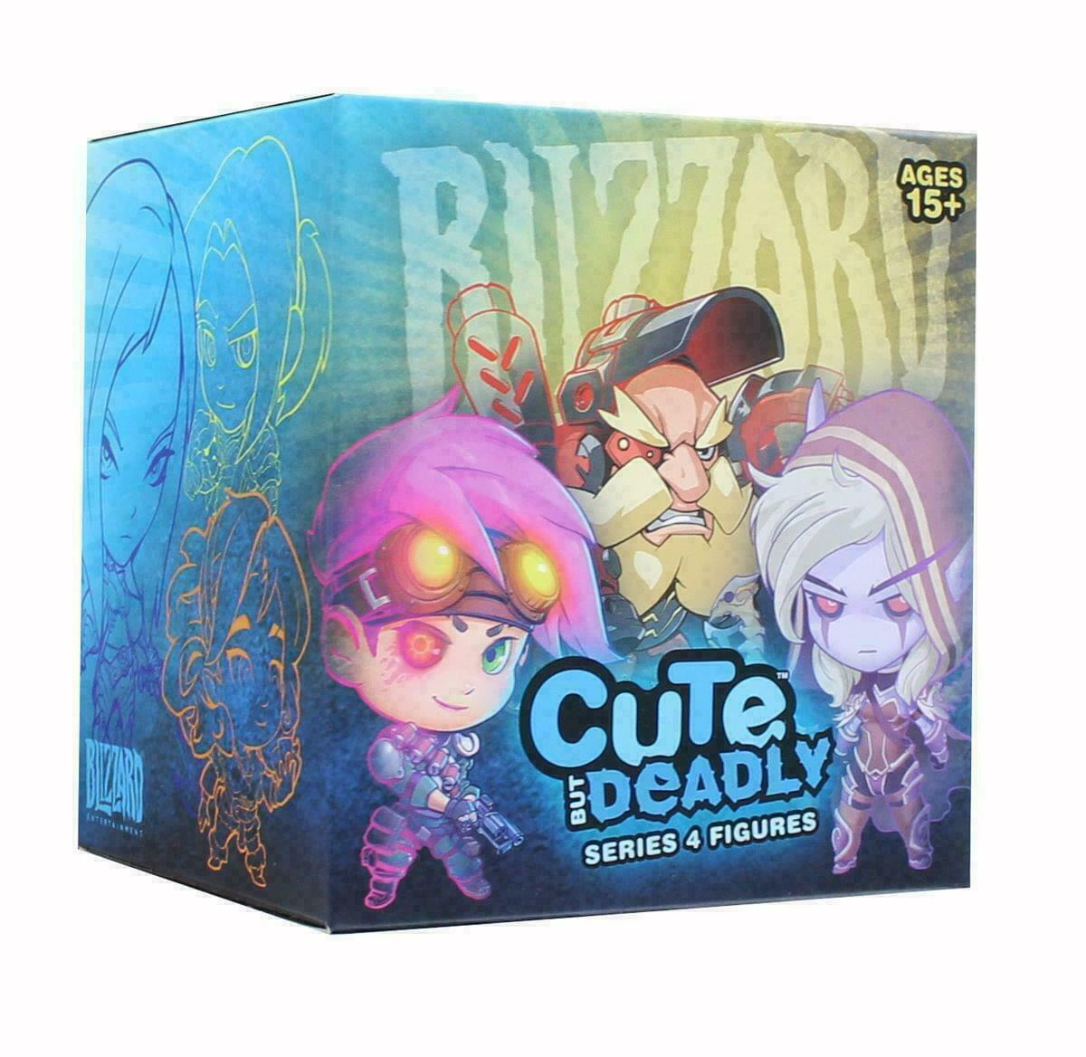 Overwatch Cute But Deadly Series 4 Random Blind Box Figure Blizzard NEW