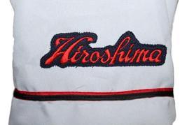 Kenta Maeda #18 Hiroshima Carp Button Down Baseball Jersey White Any Size image 4
