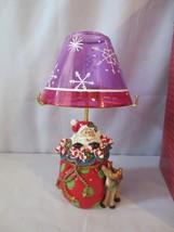 2007 Fitz & Floyd Kringle Santa Tealight Lamp Candle holder MIB - $40.00