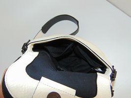 Marc by MARC JACOBS New Q Perforated Mini Natasha Bag  Black/Milk image 8