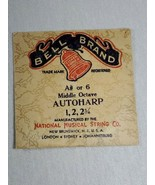 Bell brand AutoHarp Strings A# or 6 middle octave 1, 2, 2 3/4 (a12-1) - $14.85