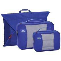 Neu Eagle Creek Pack-It mit Kleidungsstück Ordner & 2 Würfel Blaues Meer - $49.50