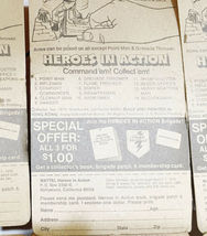 Lot (12) NOS Vintage 1974 Mattel Heroes in Action Card Figure Sealed Package image 10
