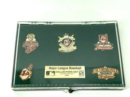 Cleveland Indians Vintage MLB 5-Piece Pin Set (New) By Peter David - $22.99