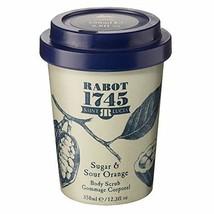 Rabot 1745 Beauty, Sugar & Sour Orange Body Scrub,Natural Ingredients, Hydrating