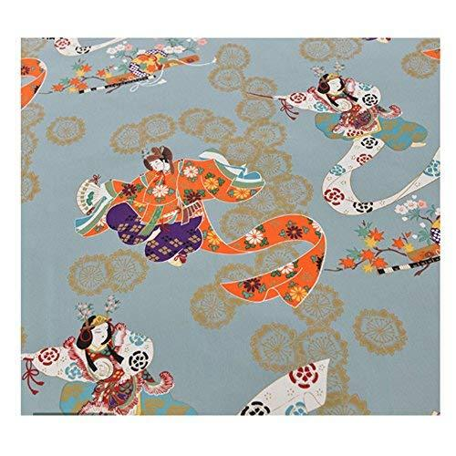 DRAGON SONIC Multi-purpose Japanese Style Fabric Cloth for Sewing Fabric