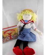 """Mary Engelbreit Ann Estelle 15"""" cloth doll '94 sailor outfit + tin Chris... - $19.79"""