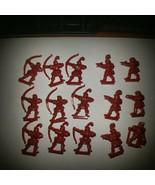 1992 Battle Masters Board Game Red Men(15) - $18.66