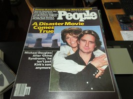 People Magazine , Michael Douglas/Jane Fonda , 4/16/79 ,   Marvin Haml... - $24.75