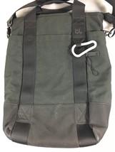 BlueLounge Black Eco-Friendly Vertical Laptop Tablet Tote Messenger Bag  - $116.70 CAD