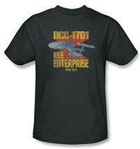 Star Trek The Original Series NCC-1701 U.S.S. Enterprise T-Shirt 2X NEW ... - $20.31