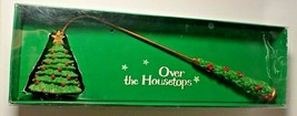 Vintage Christmas Over the Housetops Candle Snuffer New in Box Christmas... - $12.19
