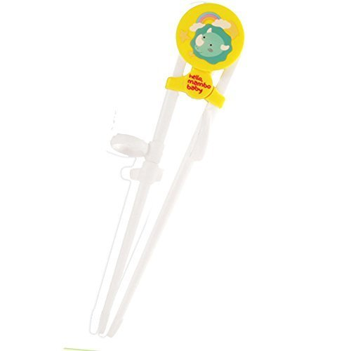 Baby Training Tableware Baby Chopsticks Correcting Using Chopsticks(Yellow)
