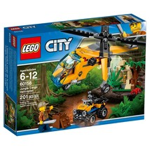 LEGO® City Jungle Explorers Jungle Cargo Helicopter 60158 - $29.65