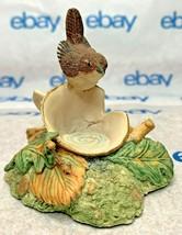 """Lowell Davis """"One for the Road"""" Figurine  1983 Schmid Bird Wren Cup 225241 - $98.98"""