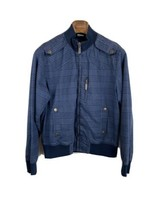 View Mens Jacket L Large Blue Plaid Full Zip  - $98.99