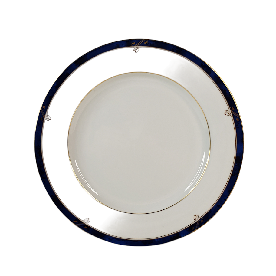 """Vintage Nikko Sapphire Fine China Patra Pattern Bread Plate 8"""" Made in Japan - $9.99"""