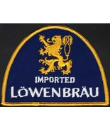 Vintage uniform patch LOWENBRAU IMPORTED beer griffin pictured unused n-... - $8.99