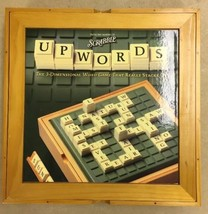 Parker Brothers Scrabble UPWORDS 3-Dimensional Word Game Wooden Box MINT... - $49.45