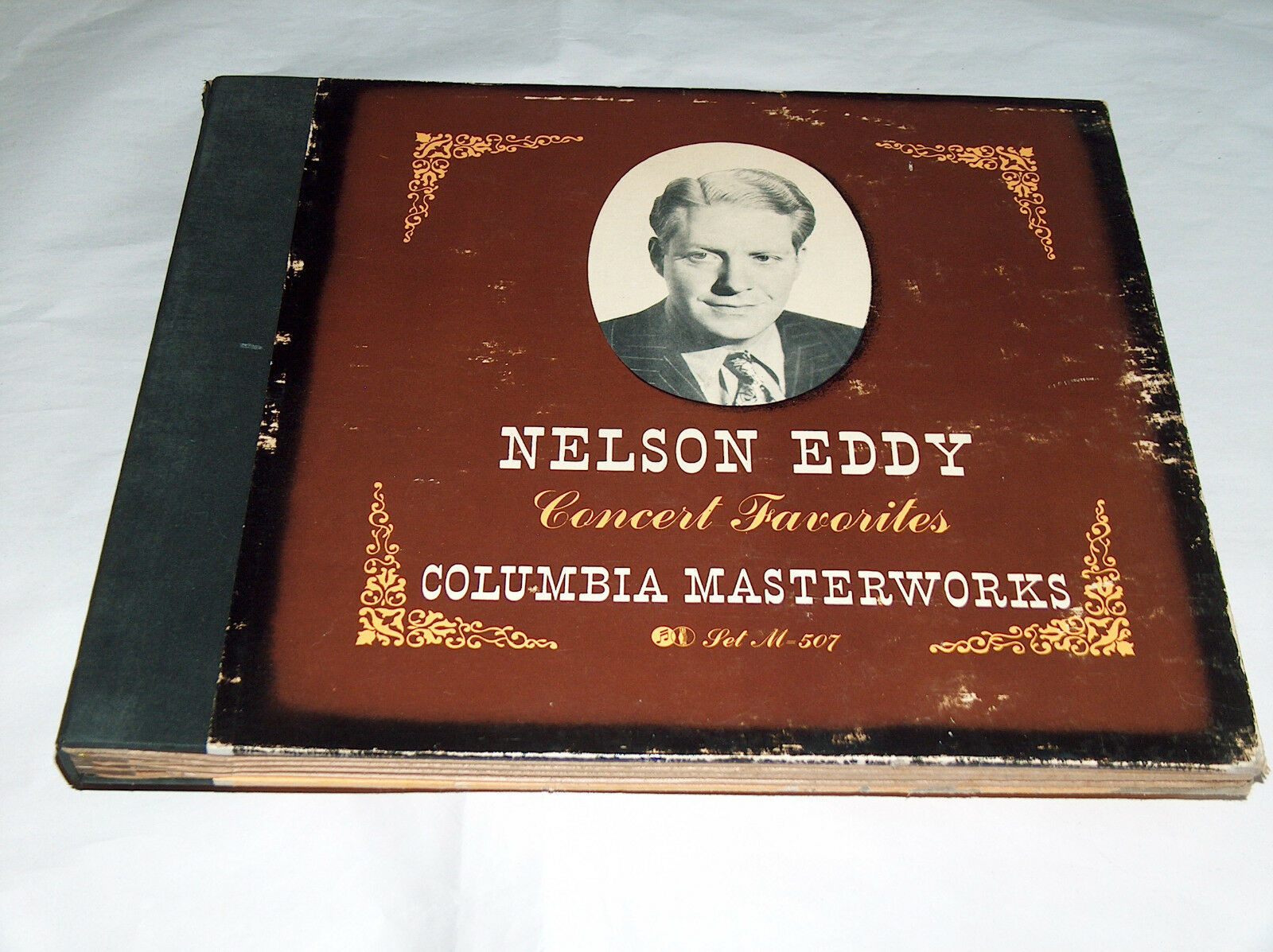 Columbia Obra Maestra Record Nelson Eddy Concierto Favourites 4 Album Set M507