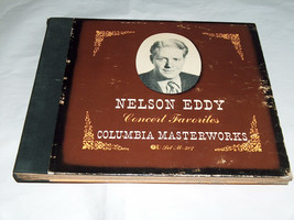 Columbia Obra Maestra Record Nelson Eddy Concierto Favourites 4 Album Se... - $14.09