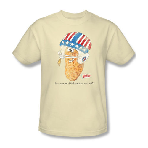 Skippy Peanut Butter T-shirt American Nut retro cotton distressed tee skp103