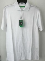 Oxford Golf Super Dry Cool Max Mens XS White Sleeve Polo Shirt NWT - $18.46