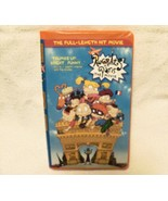 Rugrats in Paris The Movie VHS Tape with Tommy Chuckie Orange Clamshell ... - $2.99