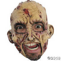 Zombie Rotted Scary Horror Latex Adult Halloween Costume Mask - $20.49