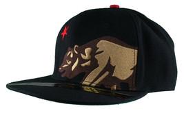 Dissizit! Lato Orso Nero Snapback Cappello California Stella Bandiera image 1