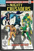 Adventures of The Mighty Crusaders Comic Book #8 Archie 1984 VERY FINE/NEAR MINT - $3.99