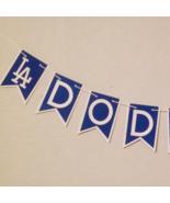 Mlb Los Angeles Dodgers Banner - Dodgers Banner - Dodgers Birthday - Dod... - $22.00