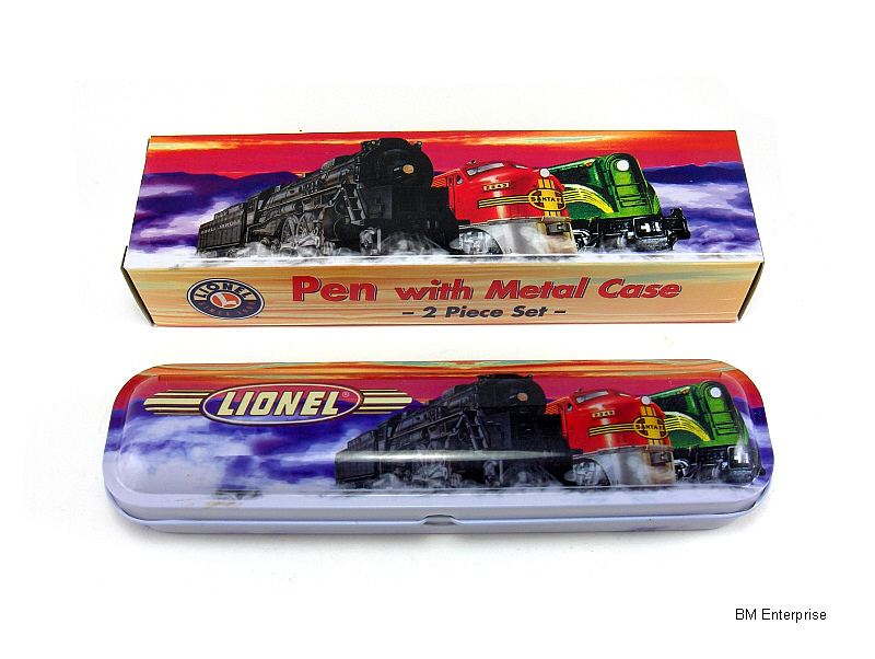 Primary image for Lionel Train Pen with Metal Case