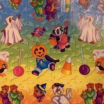 VINTAGE LISA FRANK Halloween Hip Hop Panda Bear Mint Complete Sticker Sheet S317 image 2