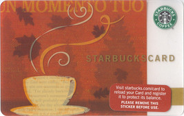 Starbucks 2008 Enjoy The Moment Collectible Gift Card New No Value - $9.99