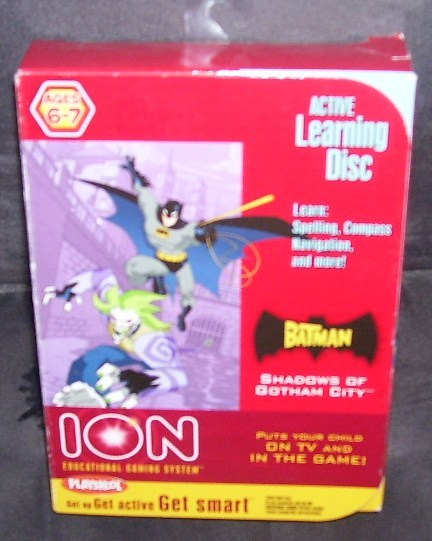 Playskool ion batman game