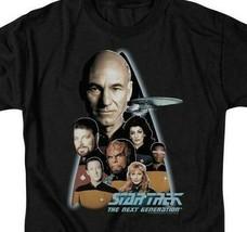 Star Trek The Next Generation Crew Capt Jean-Luc Picard graphic t-shirt CBS161 image 2