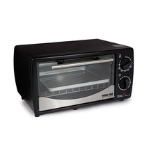 Better Chef 9 Liter Toaster Oven Broiler- Black With Stainless Steel Front - $51.90