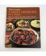 Betty Crocker's Family Dinners in a Hurry Cookbook First Printing 1970 V... - $12.86