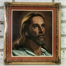 Vintage Jesus Christ Print New Sealed Print Christian Religious God Wall... - $51.99