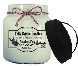 Moonlight Path Scented Jar Candle, 16-Ounce, Handle Lid - $11.00
