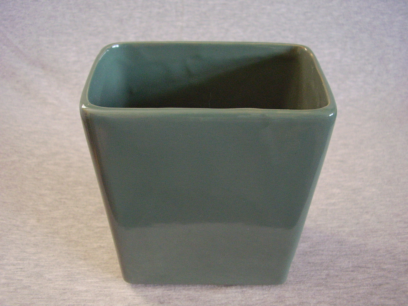 Vintage McCoy Pillow Vase Green 1958