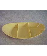 Fostoria Melmac 3 Section Divided Serving Dish Bowl - $26.00