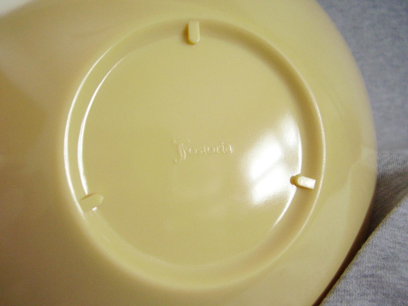 Fostoria Melamine Small Plastic Melmac Serving Dish Bowl