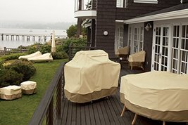 Classic Accessories Veranda Bistro Patio Table & Chairs Set Cover - Durable and  image 3