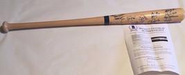 2005 NY Yankees Team Signed Bat 14 AUTO'S Arod Cano Sheffield Beckett LOA - $386.99