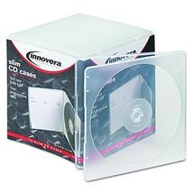 Innovera 81900 Slim CD Case, Clear, 25 per Pack - $16.45